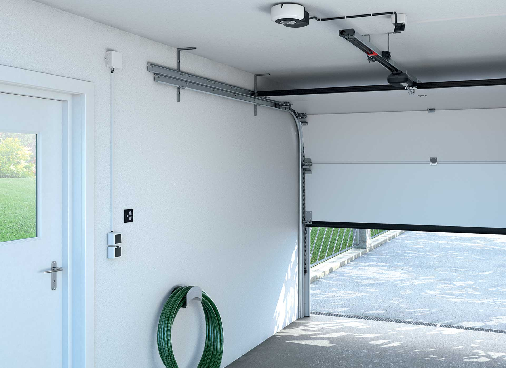 Sectional Garage Doors with the latest technology